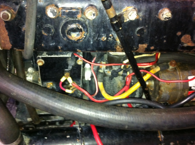 mercruiser alternator conversion no start wiring question page and here is now note i completely removed the voltage regulator