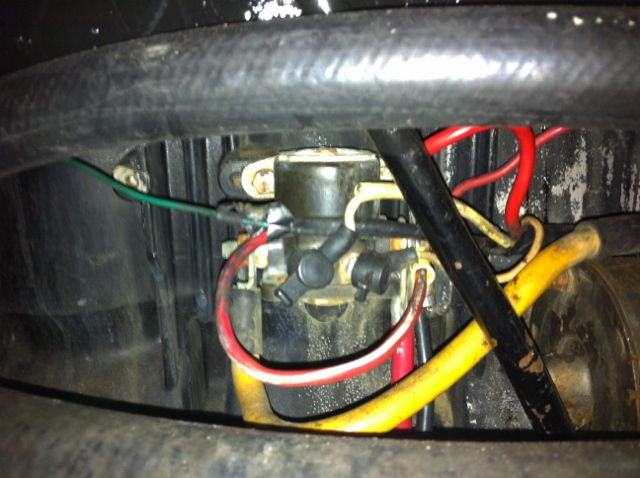 mercruiser 470 alternator conversion no start wiring question page then the other 2 wires that are connected to the voltage regulator get moved over to the side of the starter solenoid where the